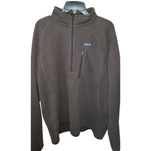 Patagonia crosstrek 1/4 zip pullover sweater